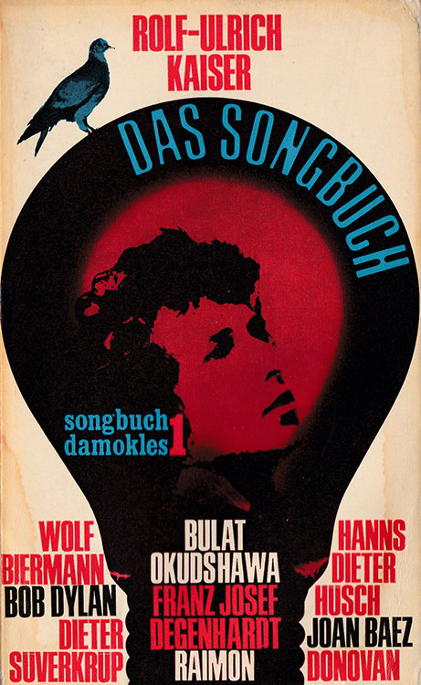 das songbuch kaiser bob dylan book in German