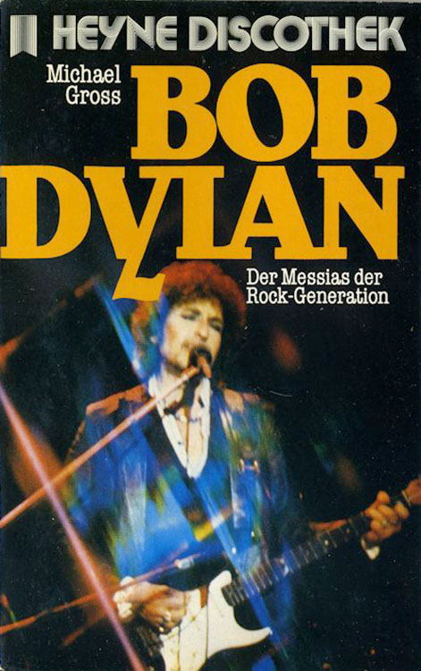 der messias der rock generation bob dylan book in German