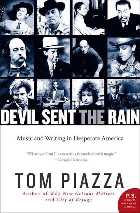 devil sent the rain Bob Dylan book
