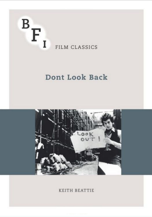don't look back keith beattie Bob Dylan book