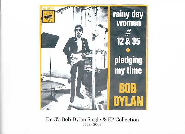 Dr. G's bob dylan single & EP collection 1962-2009