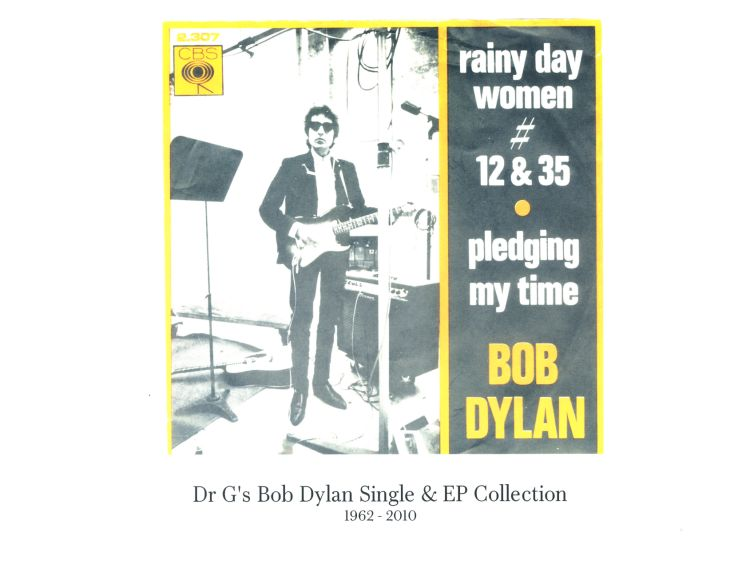 Dr G's Bob Dylan collection bob dylan single collection 1962-2010
