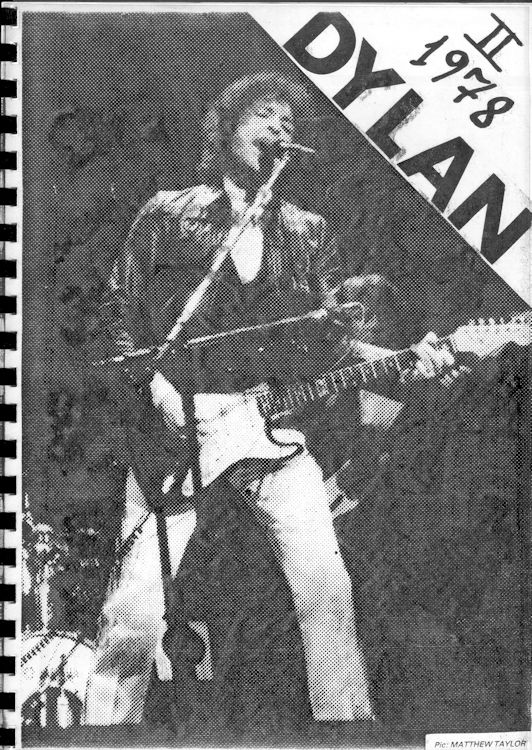Dylan II 1978 clippings book