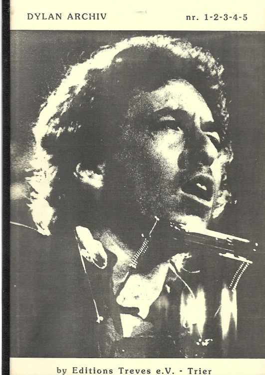 dylan archiv combined edition bob dylan book in German