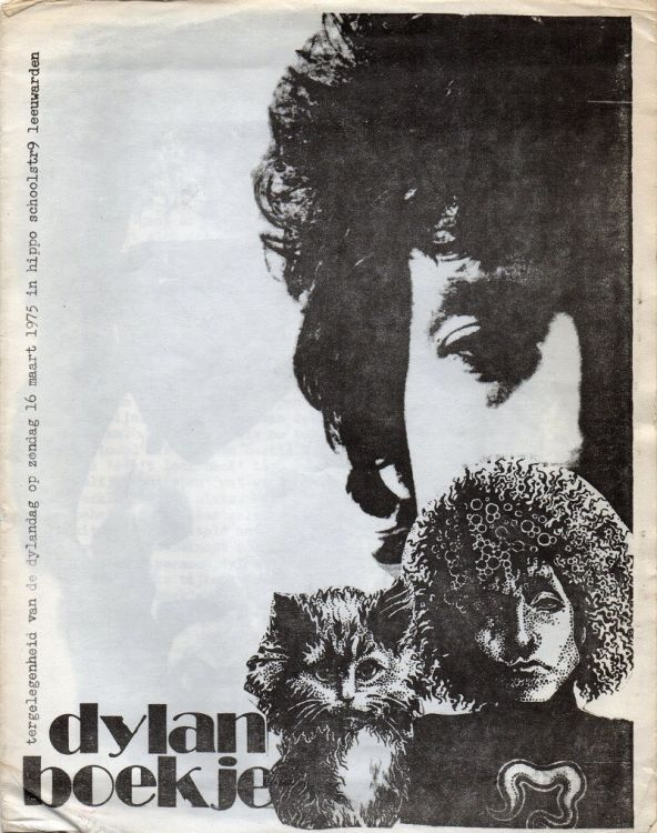 bob dylan boekje book in Dutch