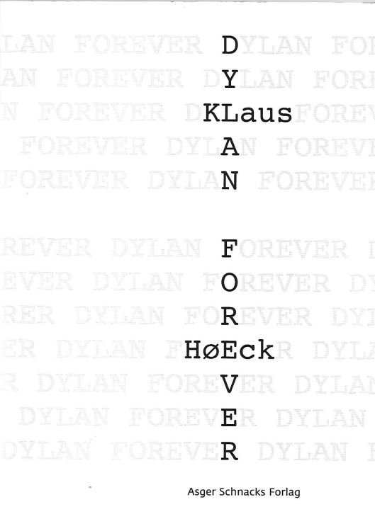 Dylan forever  book in Danish