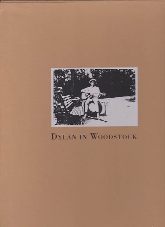 Dylan in woodstock slipcase