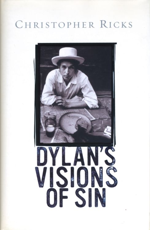 Dylan's vision of sin hardcover book