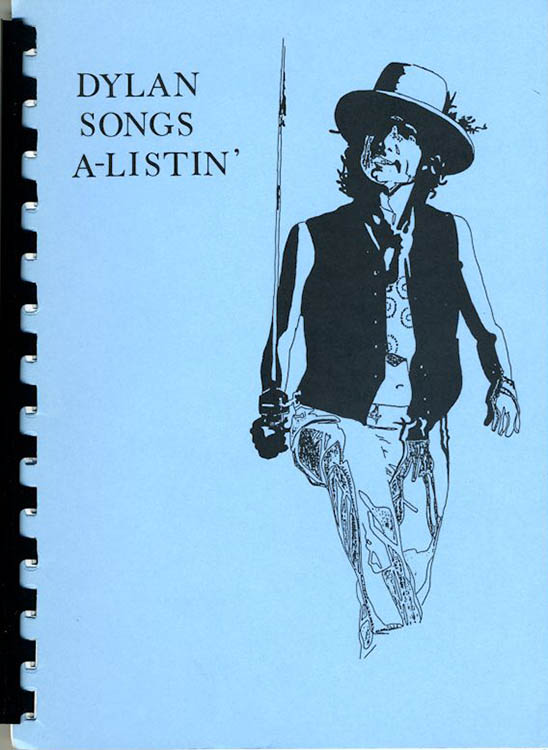 Dylan songs a listing revisited by Dave Percival book