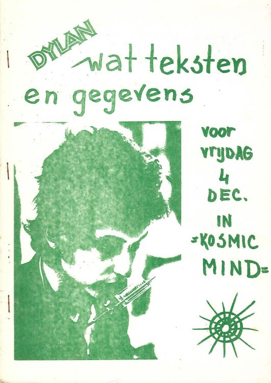 dylan wat teksten en gegevensbob dylan book in Dutch