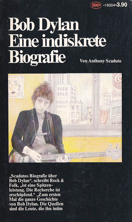 an indiskrete biografie scaduto bob dylan book in German