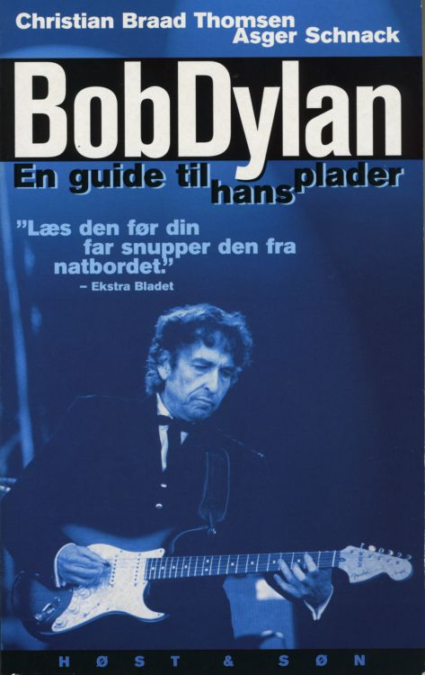 bob Dylan en guide til hans plader 2001 book in Danish