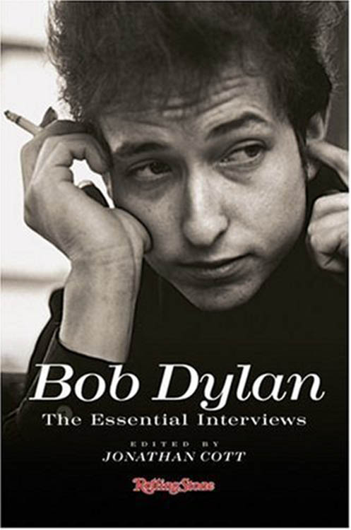 the essential interviews jonathan cott hardcover Bob Dylan book