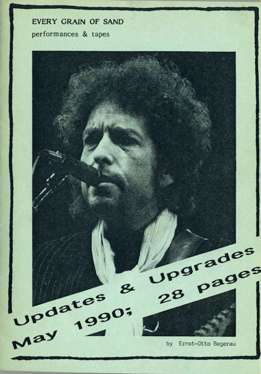 every grain of sand begerau upgrades may 1990 Bob Dylan book
