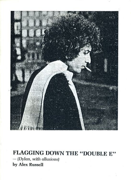 flagging down the double e Bob Dylan book