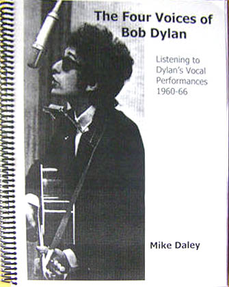 the four voices of Bob Dylan book