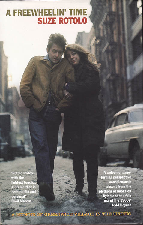 freewheelin' time rotolo uk Bob Dylan book