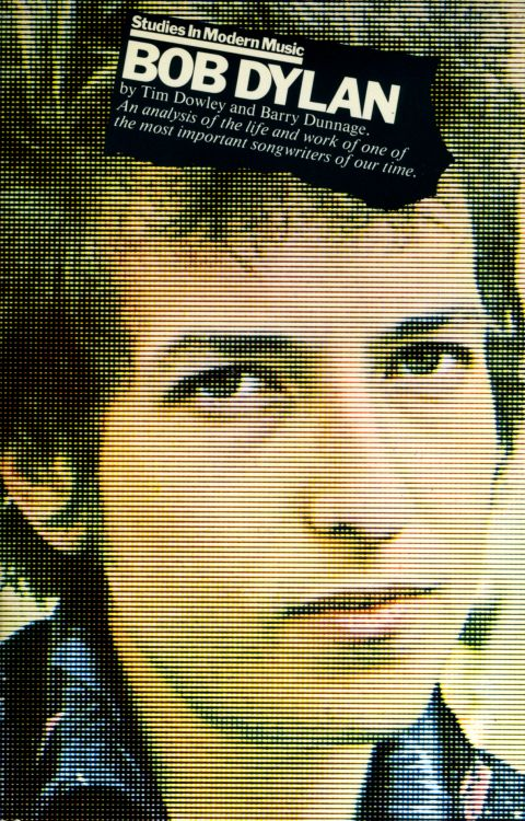 studies in modern english Bob Dylan book