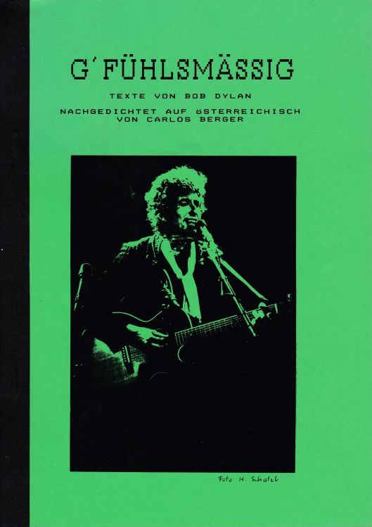 g-fuhlsmassig bob dylan book in German
