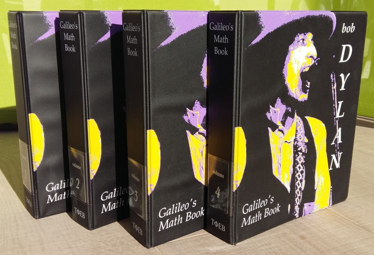galileo math's book Bob Dylan book
