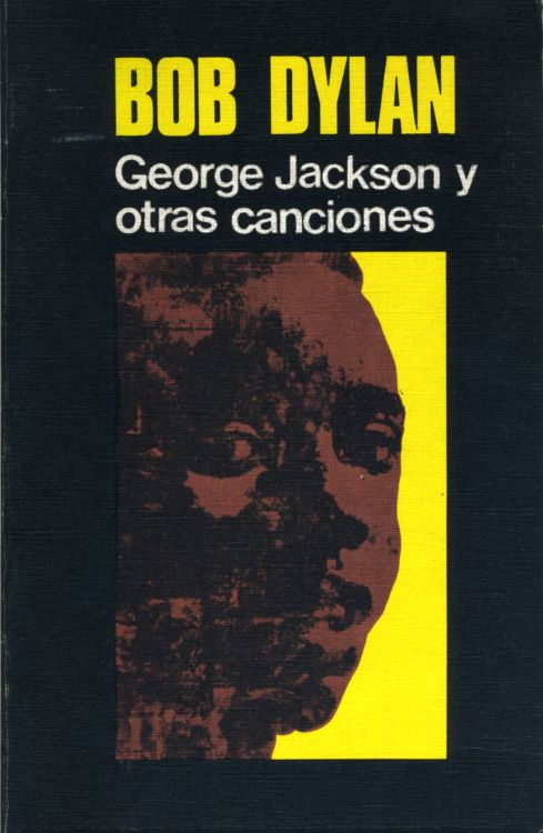 bob dylan george jackson y  otras canciones book in Spanish