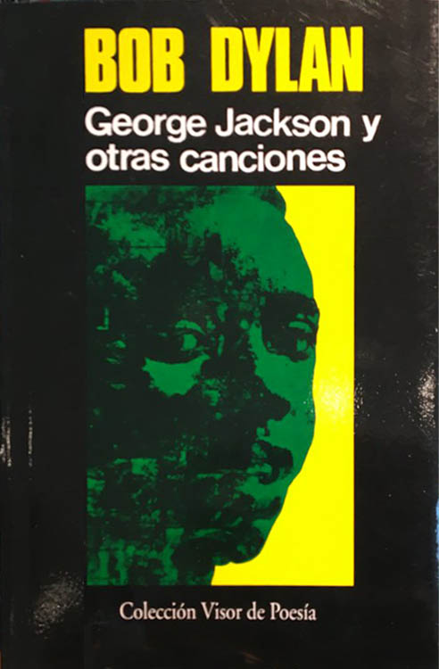 bob dylan george jackson y  otras canciones book in Spanish 1996