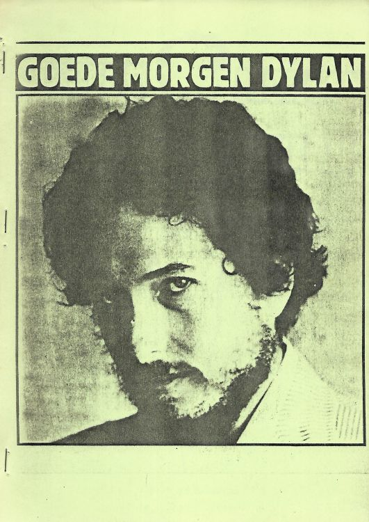 goede morgen  dylan book in Dutch
