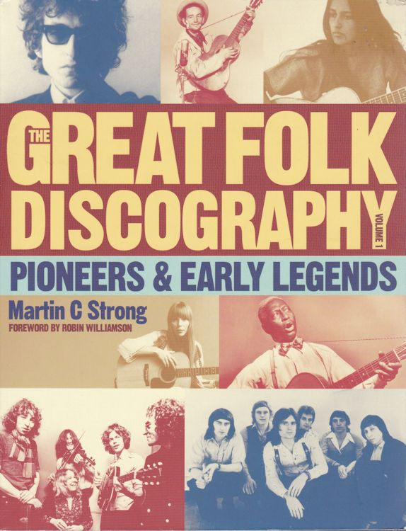 great folk discography Bob Dylan book