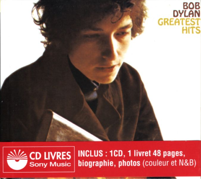 greatest hits 1998 bob dylan cd-booklet in French