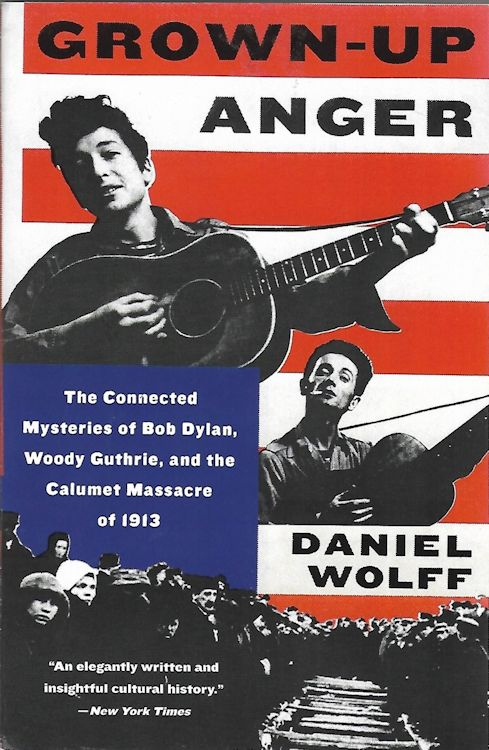 grown-up anger Bob Dylan book softcover
