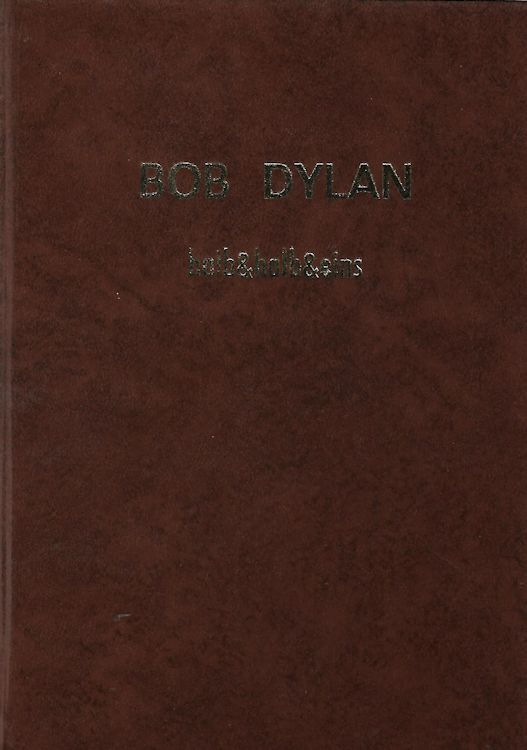 halb & halb 1985 bob dylan book in German