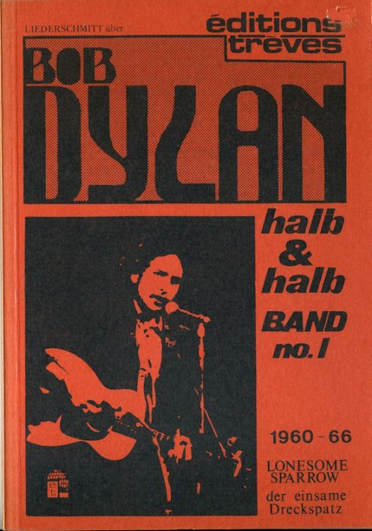 halb & halb band no 1 bob dylan book in German