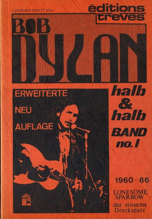 halb & halb band no 1 bob dylan book in German 1979