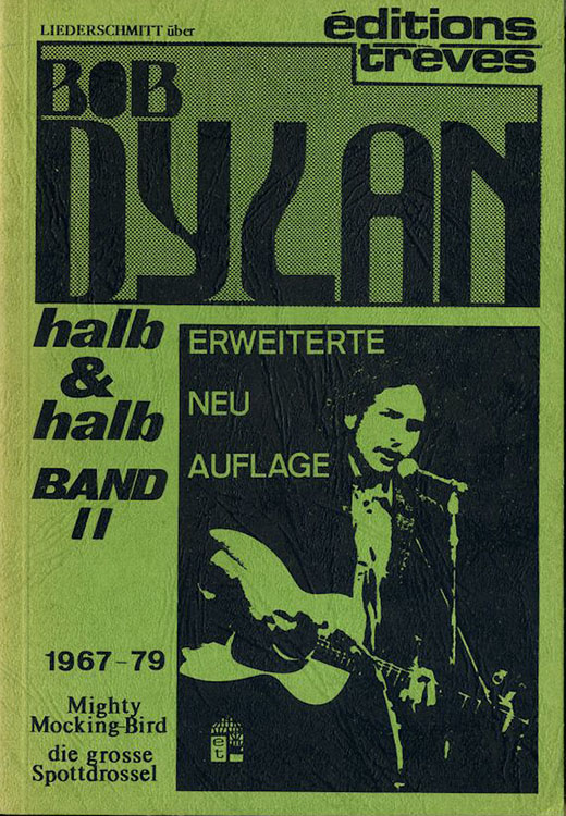 halb & halb band no 2 mighty mockingbird bob dylan book in German