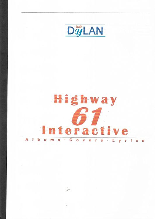 highway 61 interactive vicente escudero bob dylan book in Spanish
