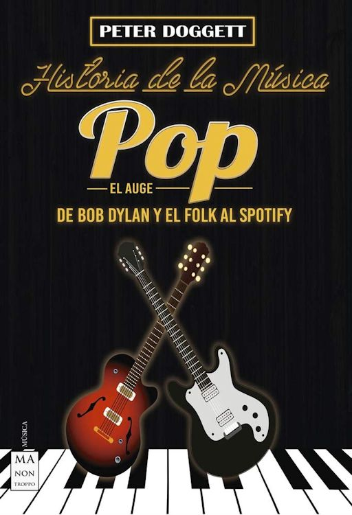 historia de la musica pop bob dylan book in Spanish