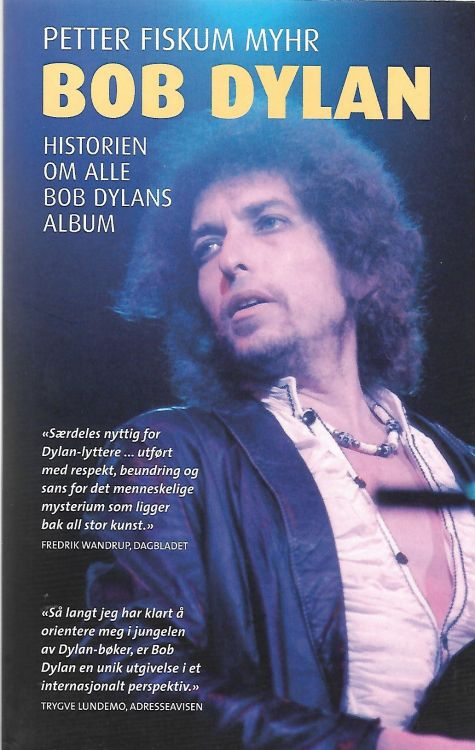 historien om alle bob-dylans-album book in Norwegian