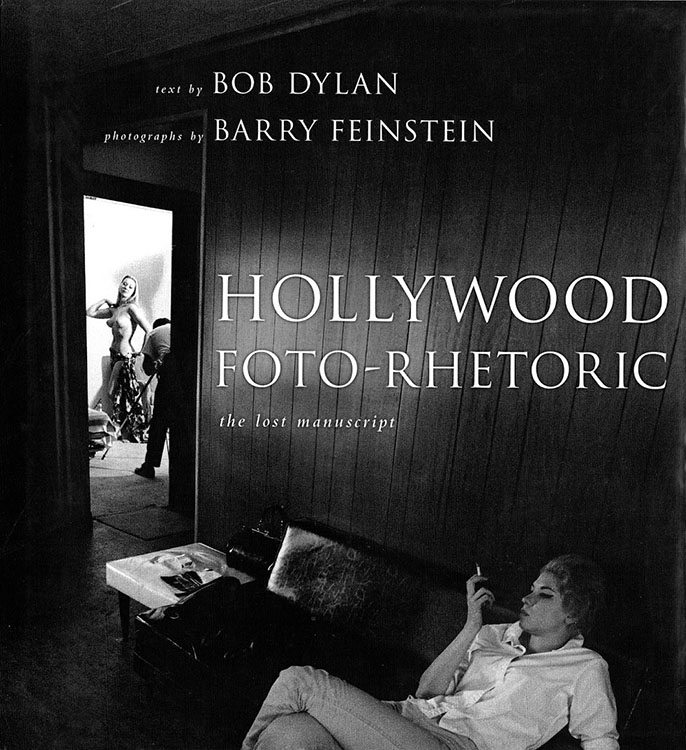 hollywood foto-rhetoric US Bob Dylan book
