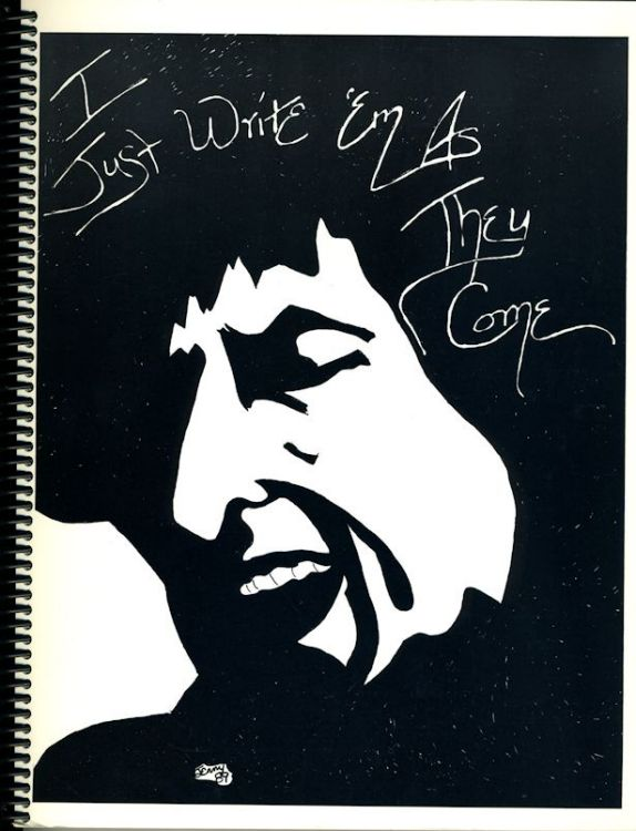 i just write them as they come Bob Dylan book