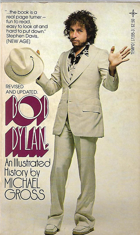 illustrated history 1980 us paperback michael gross tempo books us 1980 Bob Dylan book revised updated