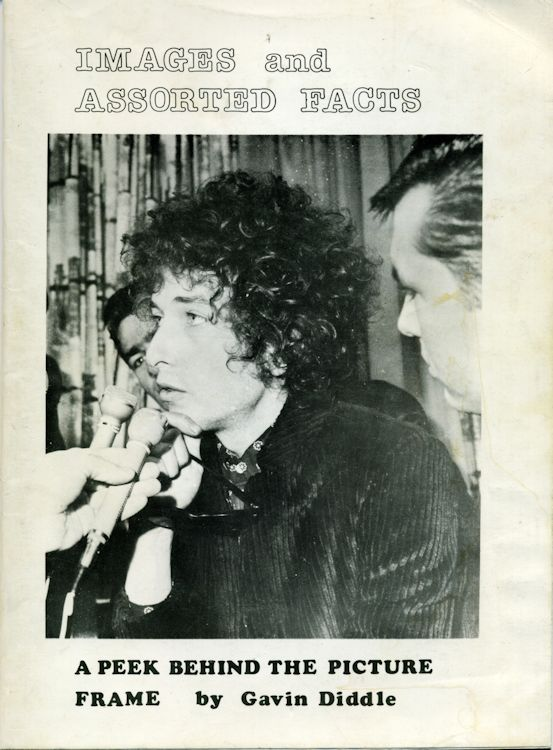 images and assorted facts Bob Dylan book