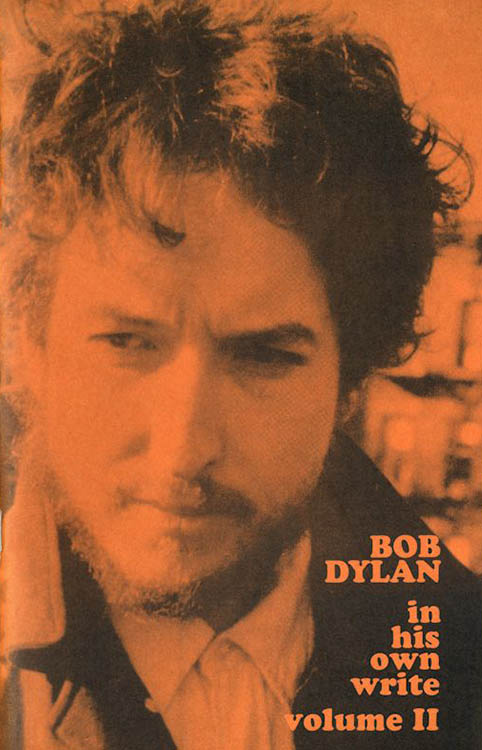 Bob Dylan in his own write personal sketches vol 2 book