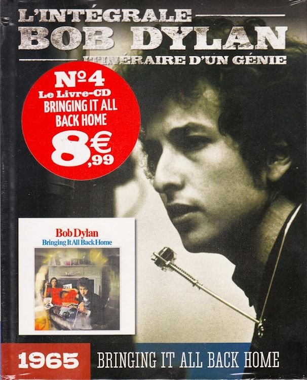 integrale de Bob dylan CD book Bringing It All Back Home