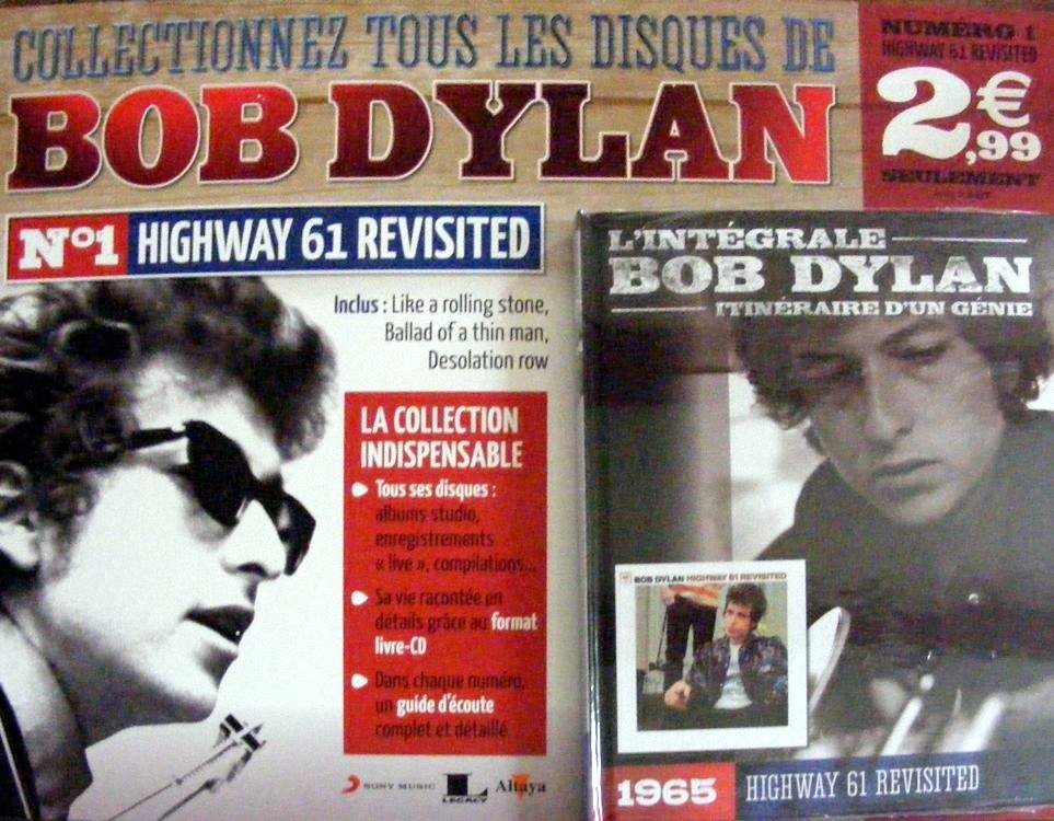 integrale de Bob dylan CD book first