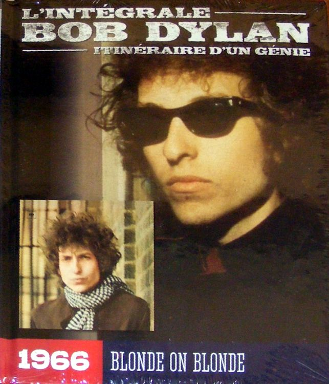 integrale de Bob dylan CD book Blonde On Blonde booklet