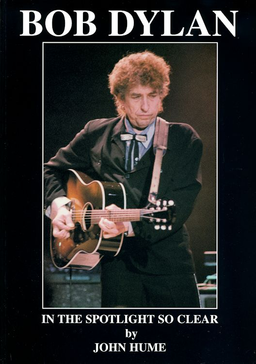 in the spotlight so clear Bob Dylan book