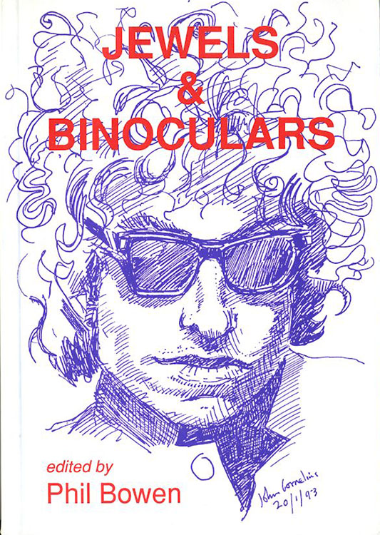 jewels and biniculars Bob Dylan book