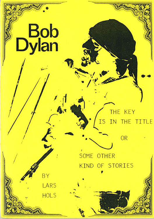 the key is in the title Bob Dylan book