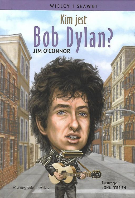 kim jest bob dylan? book in Polish