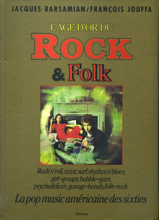 l age d'or duRock & Folk dylan book in french
